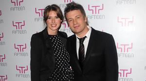 Jamie Oliver and his wife Jools