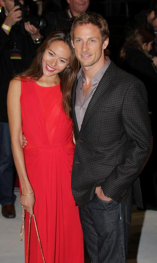Wed: Jessica and Jenson Button