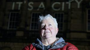 Veteran crime writer Val McDermid is offering readers the chance to have a character named after them in her latest thriller (John Linton/PA)