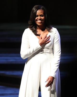 Michelle Obama has marriage counselling with her husband Barack (PA)