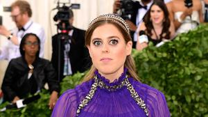 Princess Beatrice mixed with Hollywood royalty at the Met Gala (Ian West/PA)
