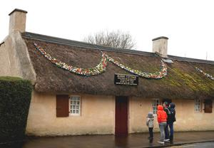 Burns Cottage in Alloway (Andrew Milligan/PA)