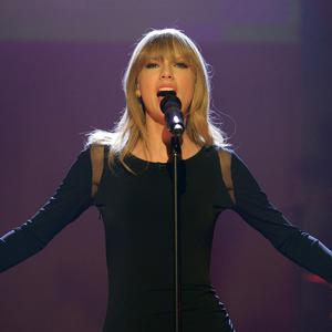 Taylor Swift performs during the filming of the Graham Norton Show at London Studios. PRESS ASSOCIATION Photo. Picture date: Thursday February 21, 2013. Photo credit should read: Jonathan Brady/PA Wire
