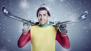 James Argent joins this year's The Jump (Channel 4/PA)