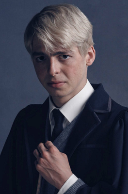 Anthony Boyle in the Harry Potter production