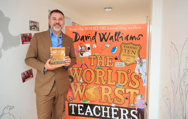 David Walliams has become a successful children's author (Peter Byrne/PA)