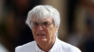 Bernie Ecclestone has become a father at the age of 89 (David Davies/PA)