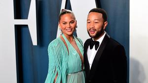Chrissy Teigen and John Legend staged a wedding for their daughter's cuddly toys (Ian West/PA)