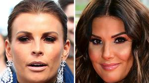Coleen Rooney (left) and Rebekah Vardy (Peter Byrne/Ian West/PA)