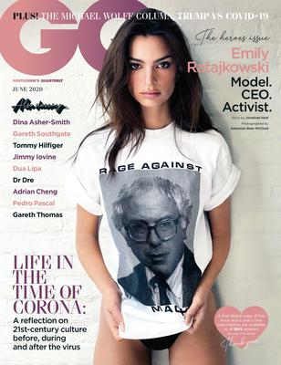 Emily Ratajkowski on the cover of GQ (Sebastian Bear-McClard/GQ)