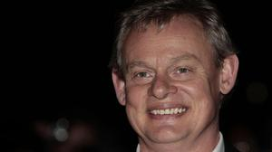 Martin Clunes adopted an Edinburgh accent for the show