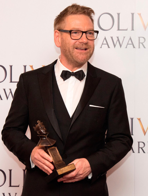 Kenneth Branagh with his special award