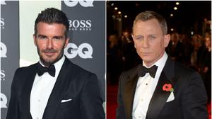Celebrities includingDavid Beckham and Daniel Craig joined millions of Britons in an emotional national salute to NHS staff (Matt Crossick/Anthony Delvin/PA)