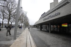 The National Theatre on the Southbank, central London (Louisa Collins-Marsh/PA)