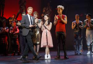 The Duke Of Sussex addresses the audience at Bat Out Of Hell – The Musical in support of the Invictus Games Foundation (Chris Jackson/PA)