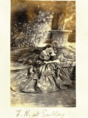 Florence Nightingale just after Crimean War (Florence Nightingale Museum)
