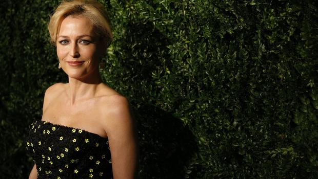 Gillian Anderson won best actress at this year's Evening Standard Theatre Awards