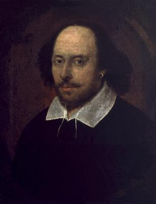 Portrait of William Shakespeare. One third of pupils were ignorant of the playwright (National Portrait Gallery)