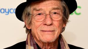 John Hurt was one of the names leaked out before the official announcement of the New Year Honours