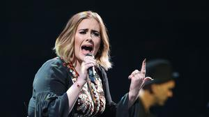 Adele spoke of her battle against post-natal depression