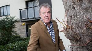Jeremy Clarkson was involved in a bust-up with Oisin Tymon at a hotel in North Yorkshire