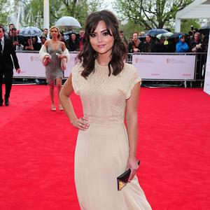 Jenna-Louise Coleman says she clams up if she's not surrounded by friends