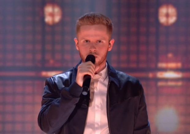 Mark McMullan performs in the Britain's Got Talent semi-finals