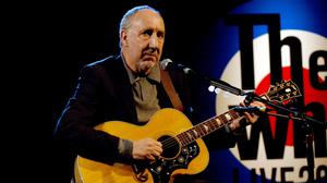 Pete Townshend is appearing at the Parkinson's fundraiser as a tribute to his composer father-in-law
