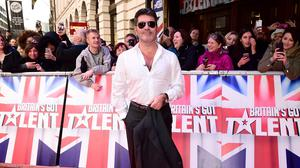 Simon Cowell arrives for Britain's Got Talent auditions at the Dominion Theatre in London
