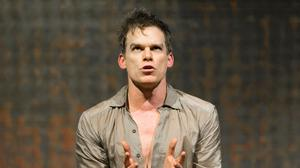Michael C Hall in the David Bowie musical Lazarus