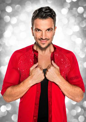 Just married: Peter Andre