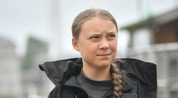 Climate activist Greta Thunberg is on the Waterstones Book Of The Year shortlist (Ben Birchall/PA)