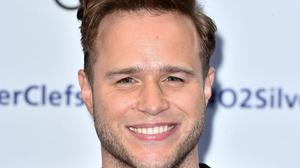 Olly Murs was seen at Anfield