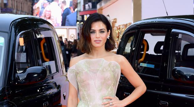 Jenna Dewan and her partner said they were 'beyond overjoyed' at the news (Ian West/PA)