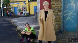 Linda Henry plays Shirley Carter (pictured right) in BBC soap EastEnders
