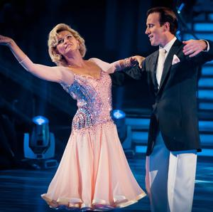 Fiona Fullerton and Strictly dance partner Anton Du Beke