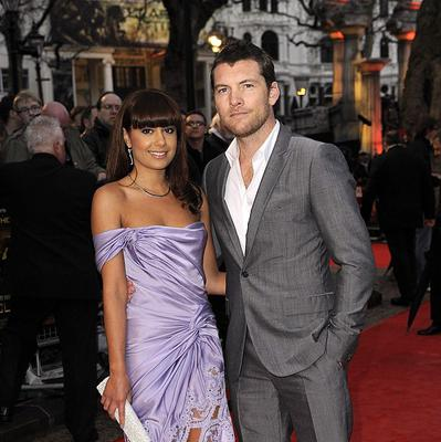 Sam Worthington and girlfriend Natalie Mark arriving for the world premiere of Clash of the Titans at the Empire, Leicester Square, London.