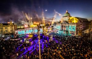 We Are Hull installation by Zolst Balogh launched Hull's tenure as UK City of Culture (Danny Lawson/PA)