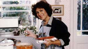 The late Lynda Bellingham will return to our screens on Christmas Day in her Oxo mum role