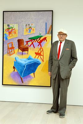 David Hockney in 2015 (John Stillwell/PA)