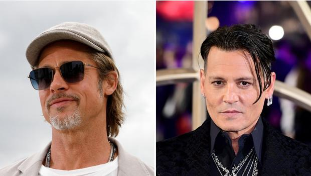 Brad Pitt and Johnny Depp have all won the title previously (PA)
