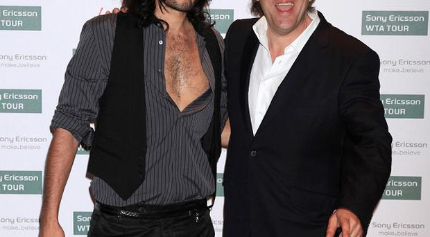 Russell Brand, left, and Jonathan Ross
