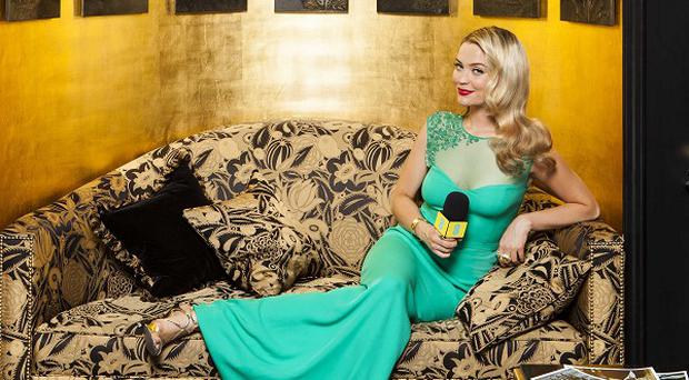 Laura Whitmore will be hosting 360-degree interviews from the Baftas red carpet (Nathan Gallagher/MC Saatchi/PA)
