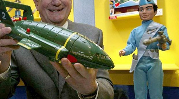 The late Gerry Anderson was the creator of Thunderbirds, which is returning to TV screens
