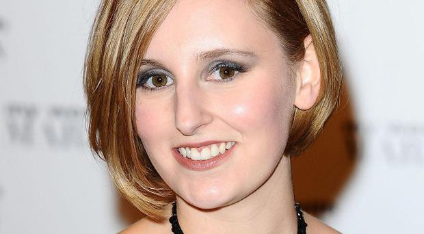 Laura Carmichael is happy to play the more dowdy sister on Downton Abbey