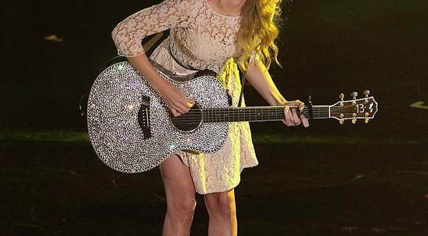 Taylor Swift recently split from One Direction's Harry Styles