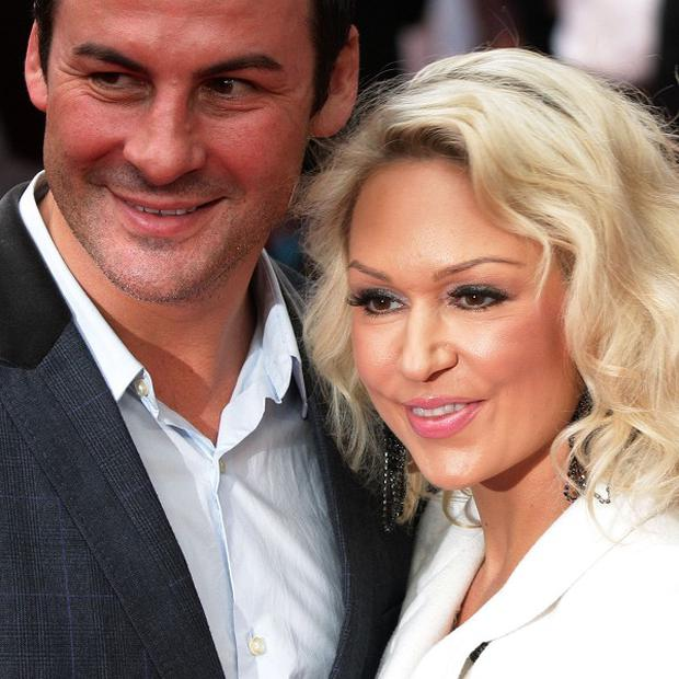 Joe Calzaghe and Kristina Rihanoff met on Strictly Come Dancing