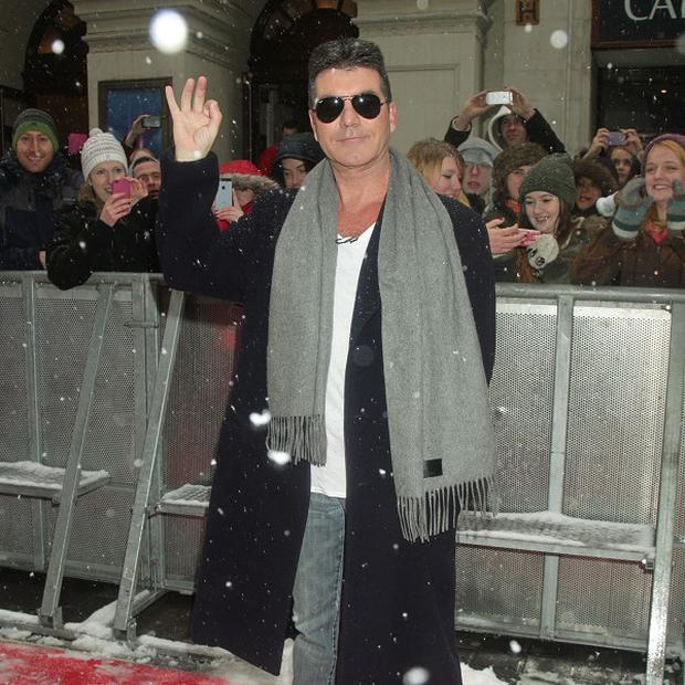 Simon Cowell was judging at the Birmingham BGT auditions