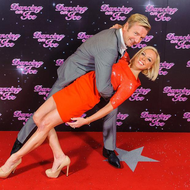 Jayne Torvill and Christopher Dean are mentors on Dancing On Ice