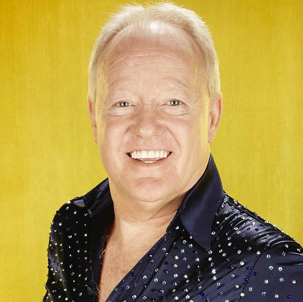 Keith Chegwin has been voted out of Dancing On Ice